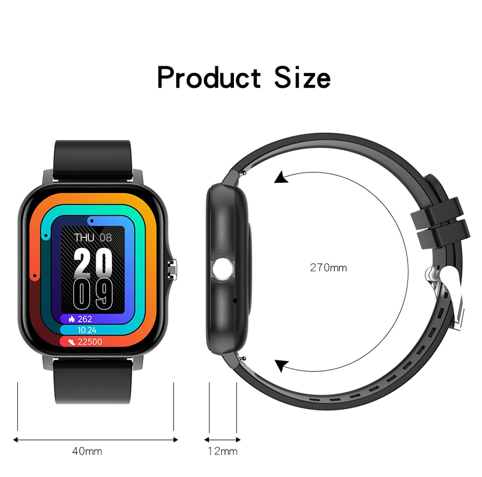 H776eb4192cf040bd9c0d914cf6393e87q - LIGE 2021 New Women Smart Watch 1.69 Color Screen Full Touch Fitness Tracker Bluetooth Call Smart Clock Ladies Smartwatch Men