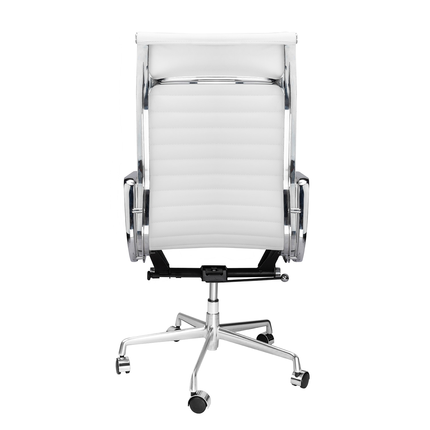 H79817cfb86884723b0db43ea830c18a1t - High Back Aluminium Group Office Chair Replica Swivel Chair with Armrests Chromed Base Gaming Chair for Office Meeting Room