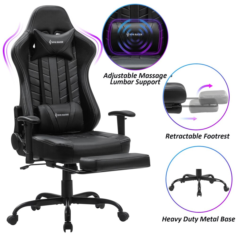 H798bd101693046a3b1e0b68c3e36e2c4A - Gaming Chair Office Chairs Silla Gamer Comfortable Executive Seating Racer PU Leather Game Chairs