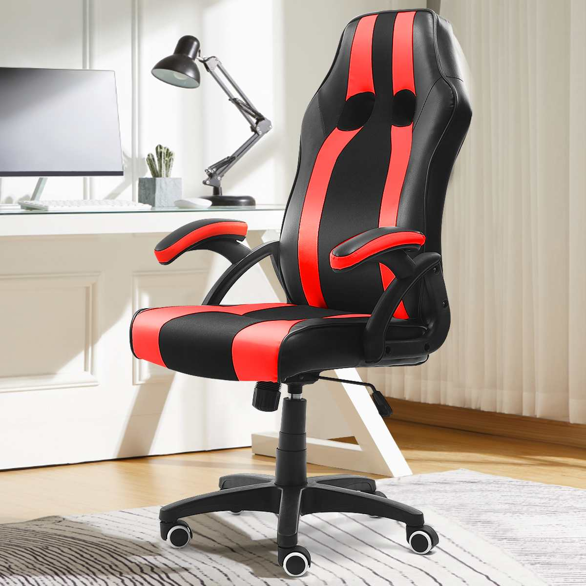 H7af52ff3799047ff9ed86e9a15cbb5f3h - WCG Gaming Chair Computer Armchair Office Chairs Home Swivel Massage Chair Lifting Adjustable Desk Chair Lying Recliner Chair