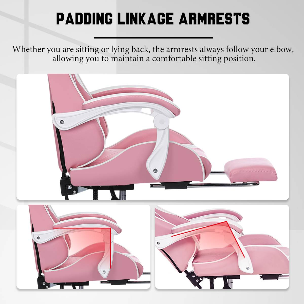 H7cb85887435f4d12a69cf3c62b1db214w - Office Computer Chair WCG Gaming Chair Pink Silla Leather Desk Chair Internet Cafe Gamer Chair Household Armchair Office Chair