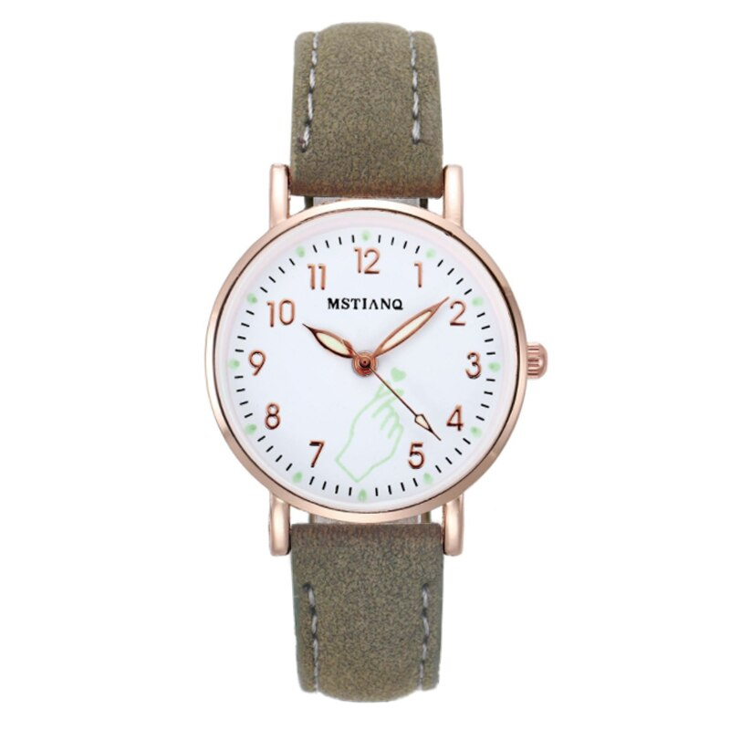 H80abffd20ad8487abd763aab82e16bc6e - 2021 New Watch Women Fashion Casual Leather Belt Watches Simple Ladies' Small Dial Quartz Clock Dress Female Watch Reloj mujer