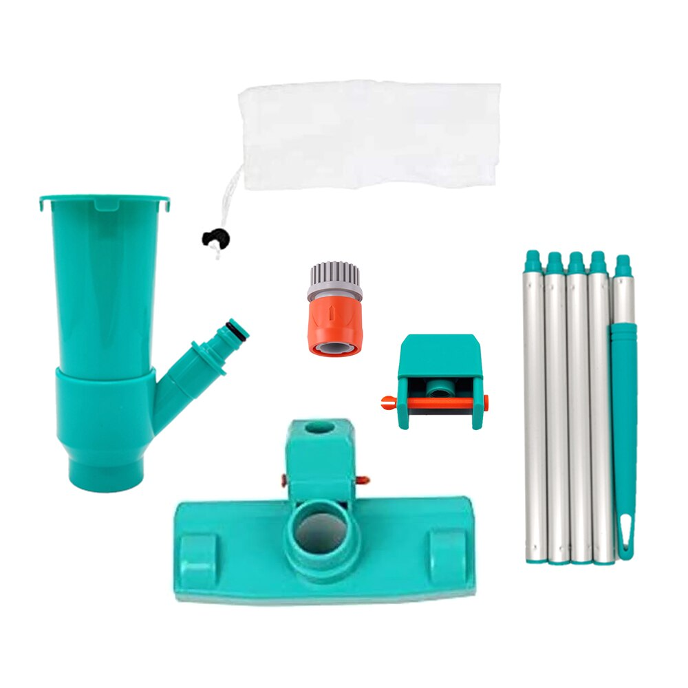H819872c5147c4f95bcf08b085f7716e1g - Hot ! Mini Jet Swimming Pool Vacuum Cleaner Tools set Objects Suction Fountain Pond Head Vacuum Brush Cleaner Cleaning Tools