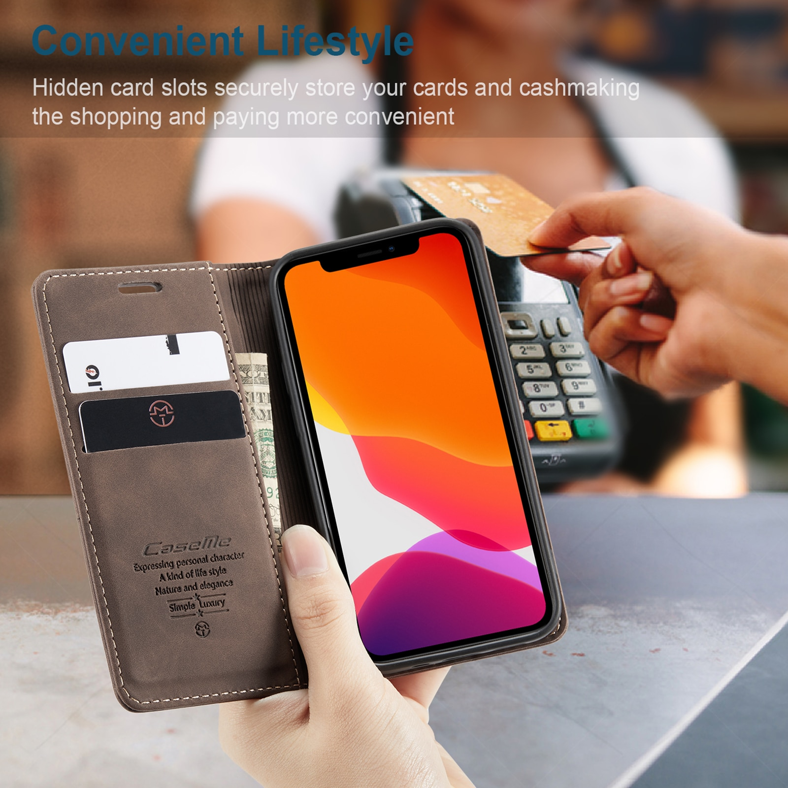 H84239f3c768f41c0b875aad5e0dd1e59d - Magnetic Leather Flip Case For iPhone 12 / Pro / Pro Max PU Leather Fitted Bumper Soft Retro Flip Case Book Wallet Cover