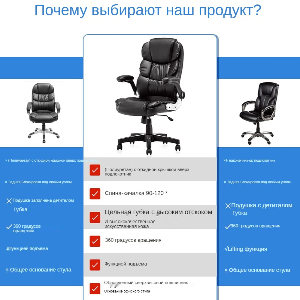 H84c7b3f4a3dc44c6ba06f402bd96cd60o - YAMASORO Computer chair Ergonomic design Executive Office Chairs gaming chair Home armchair, Comfortable Leather boss Chair