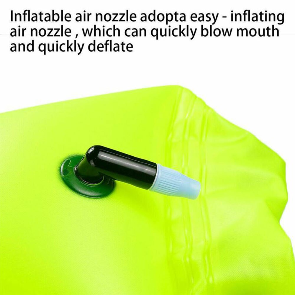H858569725649464cb55a7bd526c2e5696 - Inflatable Open PVC Swimming Buoy Tow Float Dry Bag Double Air Bag with Waist Belt for Swimming Water Sport Safety bag
