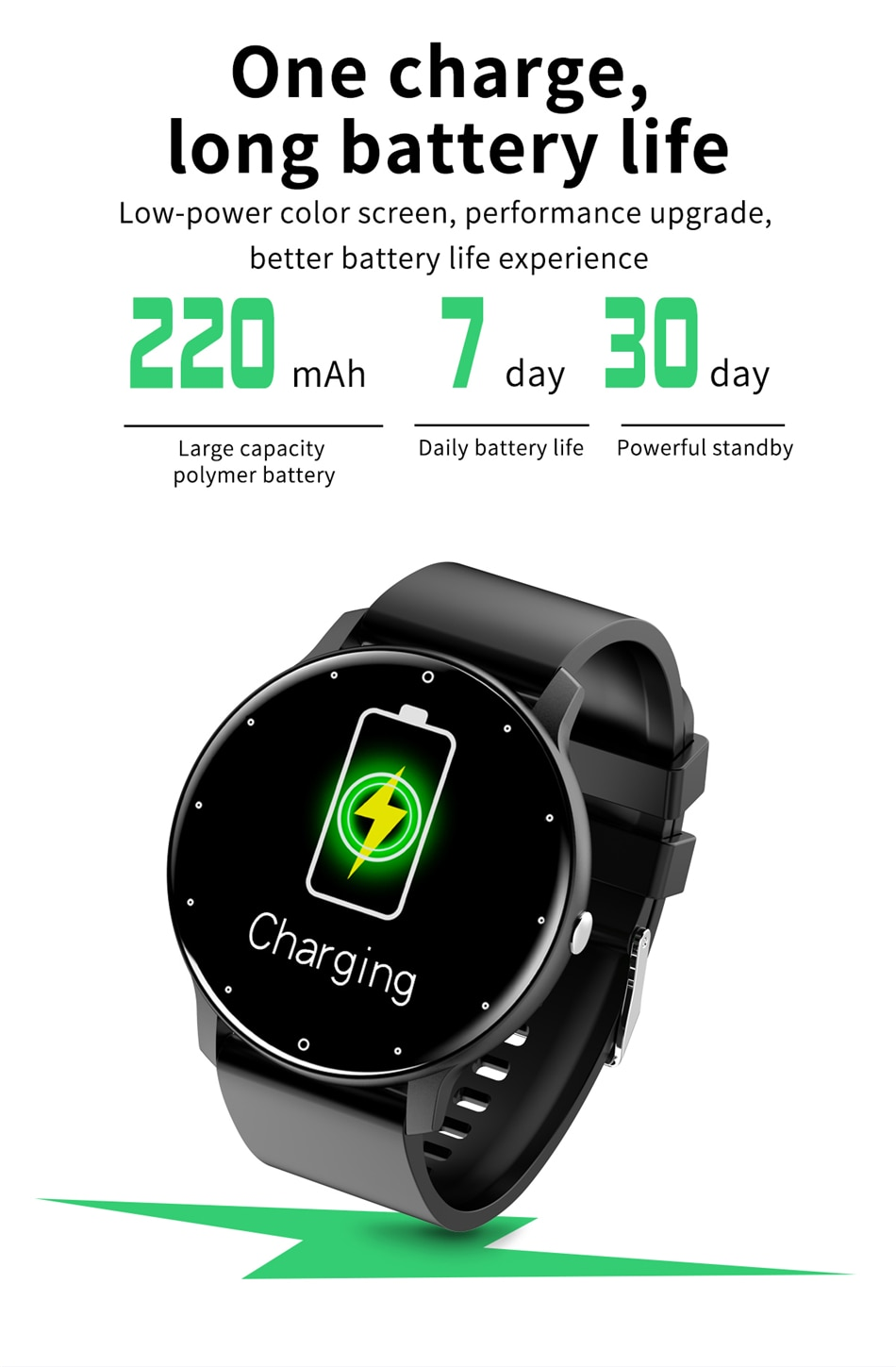 H87d282fb46e1470b84fbae2aca956119j - LIGE 2021 New Smart Watch Men Full Touch Screen Sport Fitness Watch IP67 Waterproof Bluetooth For Android ios smartwatch Men box