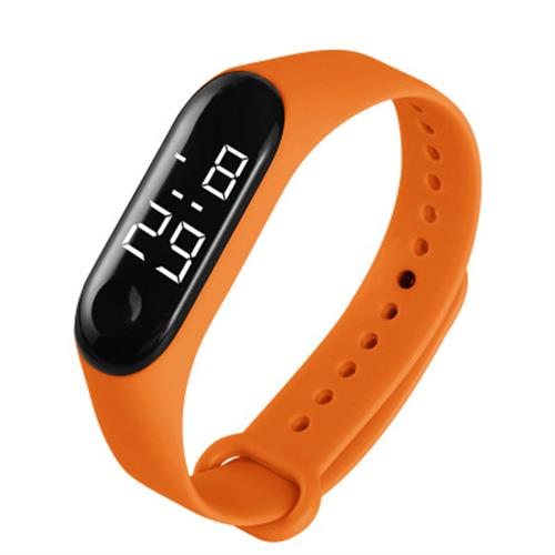 H899a8578ce2641c9ab7d7570b38cb1bbu - M3 Led Wristwatch Fitness Color Screen Smart Sport Bracelet Activity Running Tracker Heart Rate for Men Women Silicone Watch
