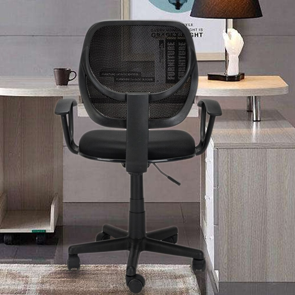 H8c3cc605b814437d9be181ed03d0e3ef1 - Home Office Chair Household Armchair Lift and Swivel Function Office Computer Study Chair Leisure Mesh Chair-Reclining