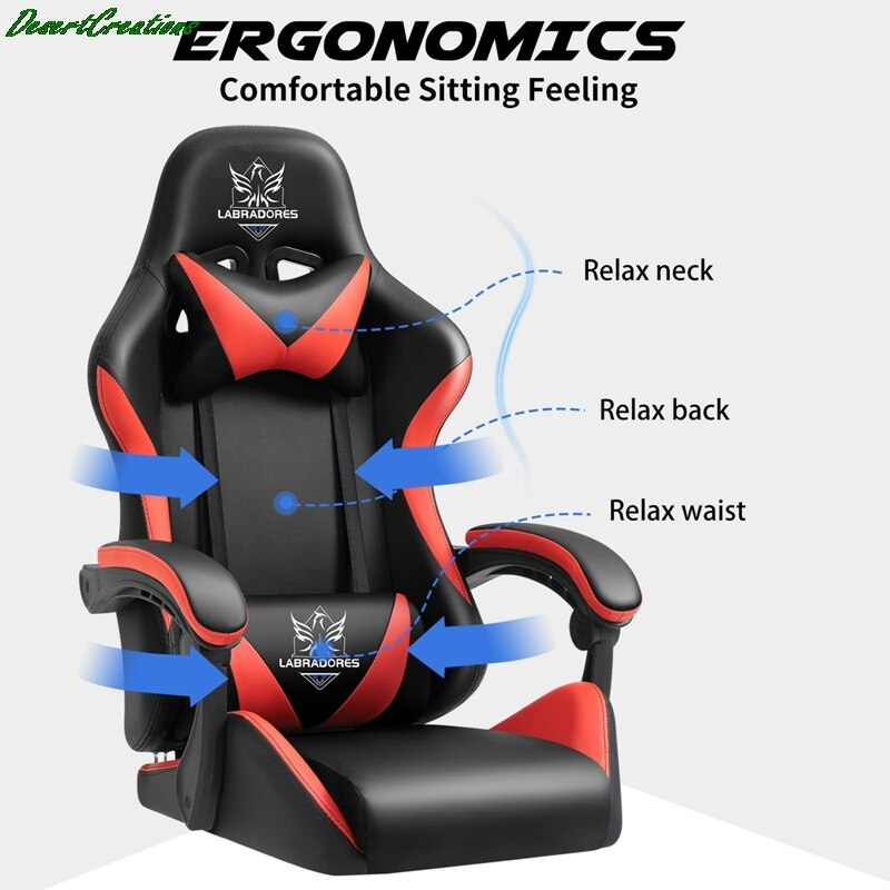 H8c7d9841f1a74bbe85d4af5988f8aa4dG - Free Shipping Professional Computer Chair Rotatable Internet Cafe Racing Chair WCG Gaming Chair Office Chair