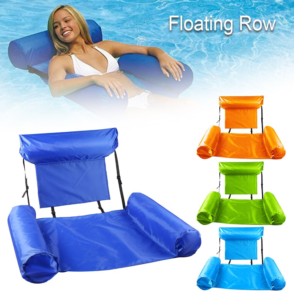 H8e32e3fe6a5a46ffa18d0b625e846788x - PVC Summer Inflatable Foldable Floating Row Swimming Pool Water Hammock Air Mattresses Bed Beach Water Sports Lounger Chair