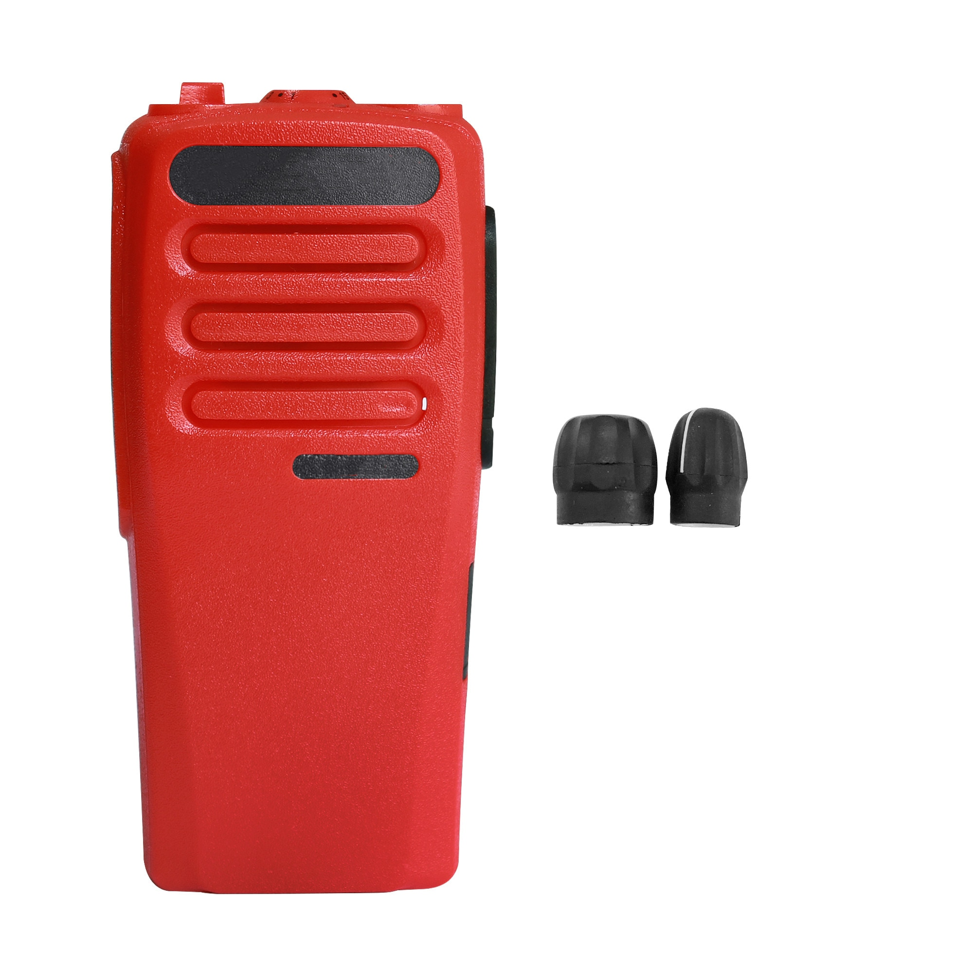 H98c933d7059744349a3109b9b9472d13Y - Red Walkie Talkie Replacement Repair Case Housing Cover for Motorola CP200D DEP450 Portable Two Way Radio