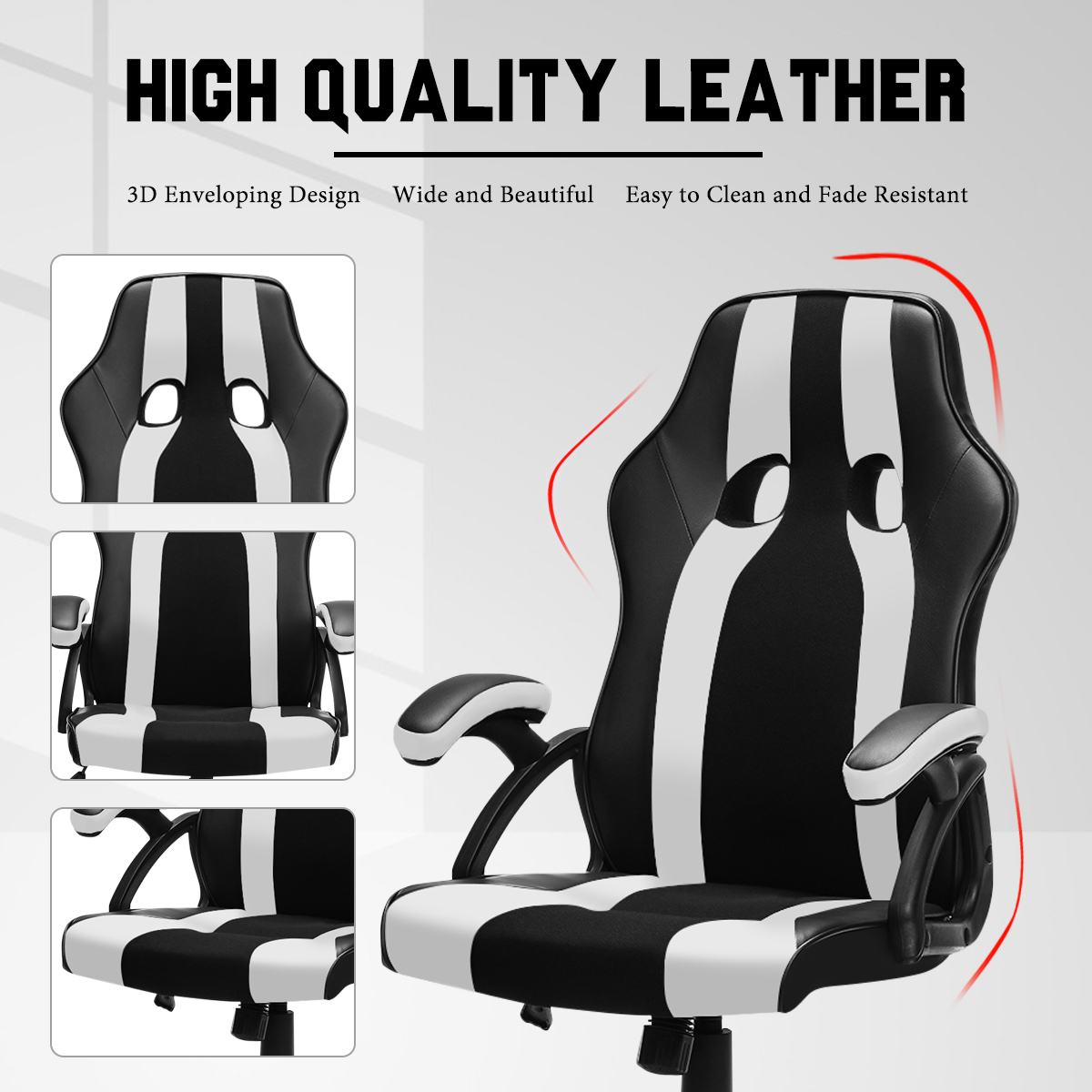H9bb5eaa2a37344efa92c526738d5212eF - Gaming Office Chairs Executive Computer Chair Desk Chair Comfortable Seating Adjustable Swivel Racing Armchair Office Furniture