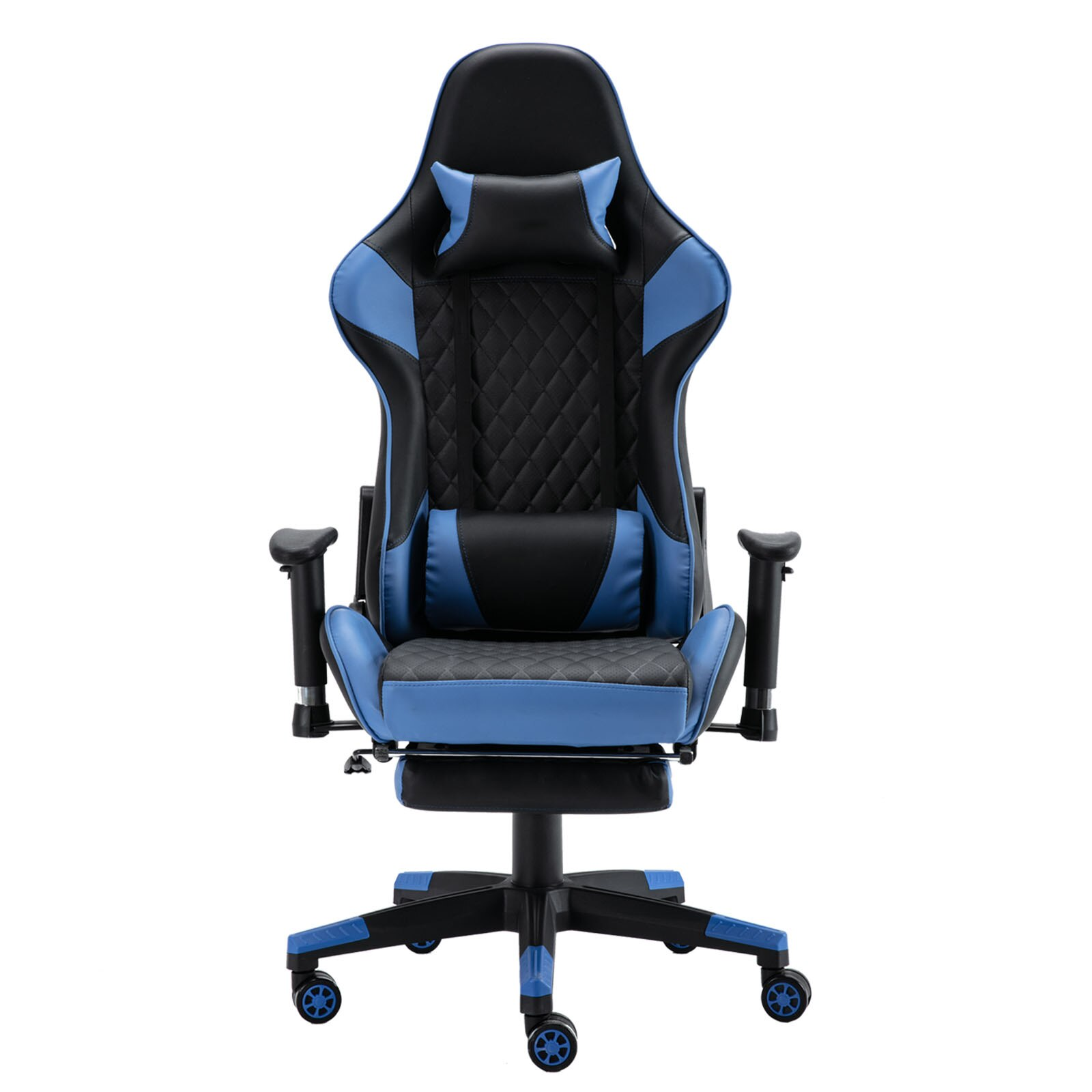 H9c7fc2649f7f4bbeab85dff9ffd14a53u - Gaming Chair Computer Armchair Adjustable Armrest And Footrest PVC Household Office Chair Ergonomic Computer Gamer Chair