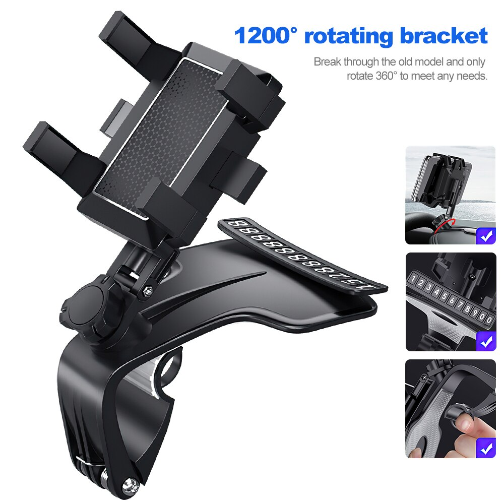 H9cabaa01f87c433ebfdad8ed9f9e9f6b7 - TRAVOR Phone Holder Adjustable Stand Car Phone Holder Clip Waterproof Bracket Bicycle Handlebar Mobile Support Mount Phone Stand