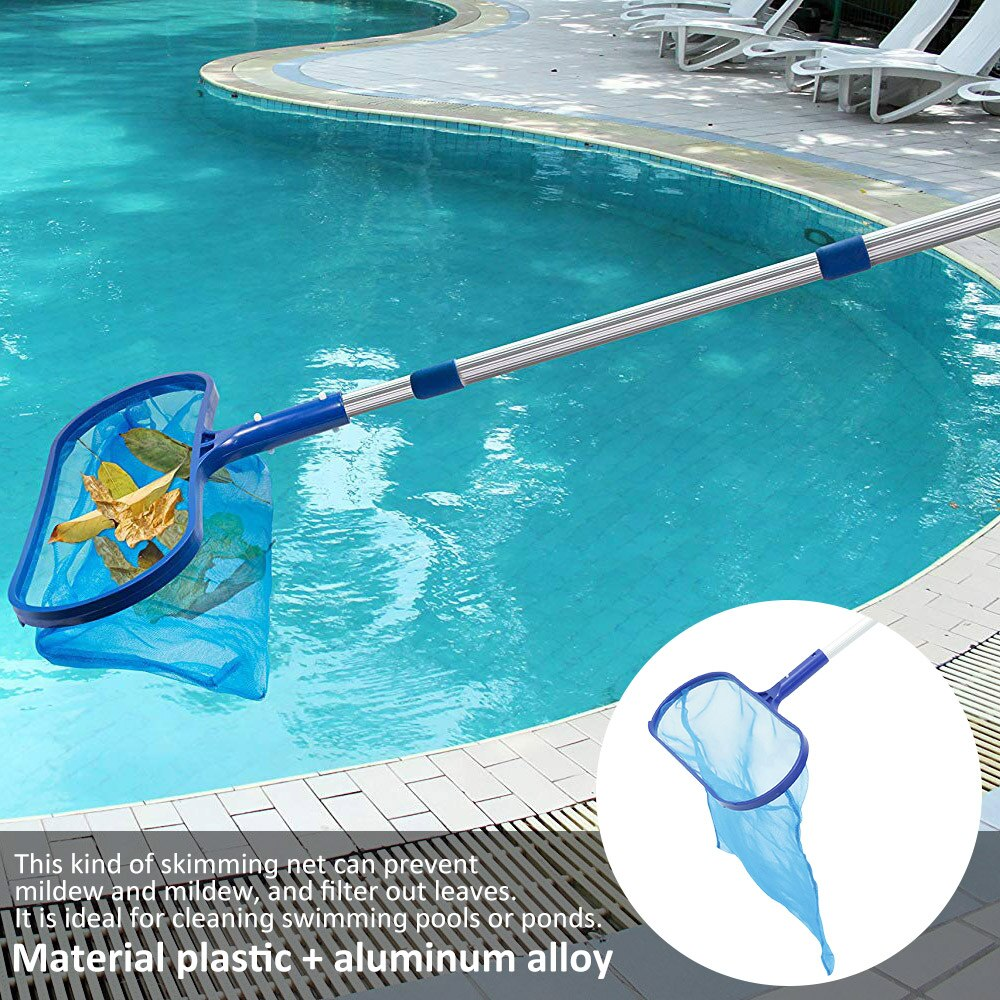 H9f49ff5116044985a76254c36f0b88cdi - Swimming Pool Net Tool Shallow/Deep Water Fishing Net Pool Cleaning Net Equipment Home Outdoor Fishing Pool Cleaner Accessories