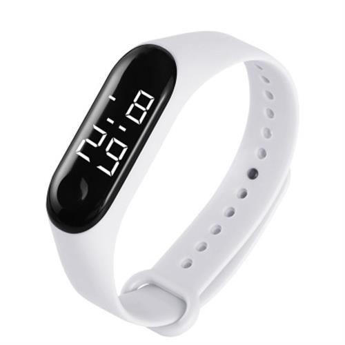 Ha07772cf6df84056b10fc704a0f0bc19S - M4 Men's Watch Women's Clock Heart Rate Blood Pressure Monitoring Tracker Fitness Wristband Bluetooth Connection Waterproof $^$