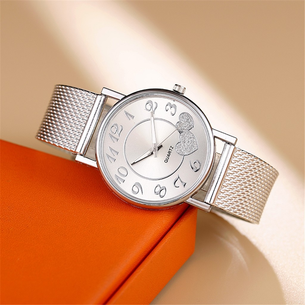 Ha114d210321741c38c4e77ae51fca085I - Ladies Mesh Belt Watch Wild Lady Creative Fashion Gift The Latest Top Fashion Men's Business Watch Gift watches for ladies часы