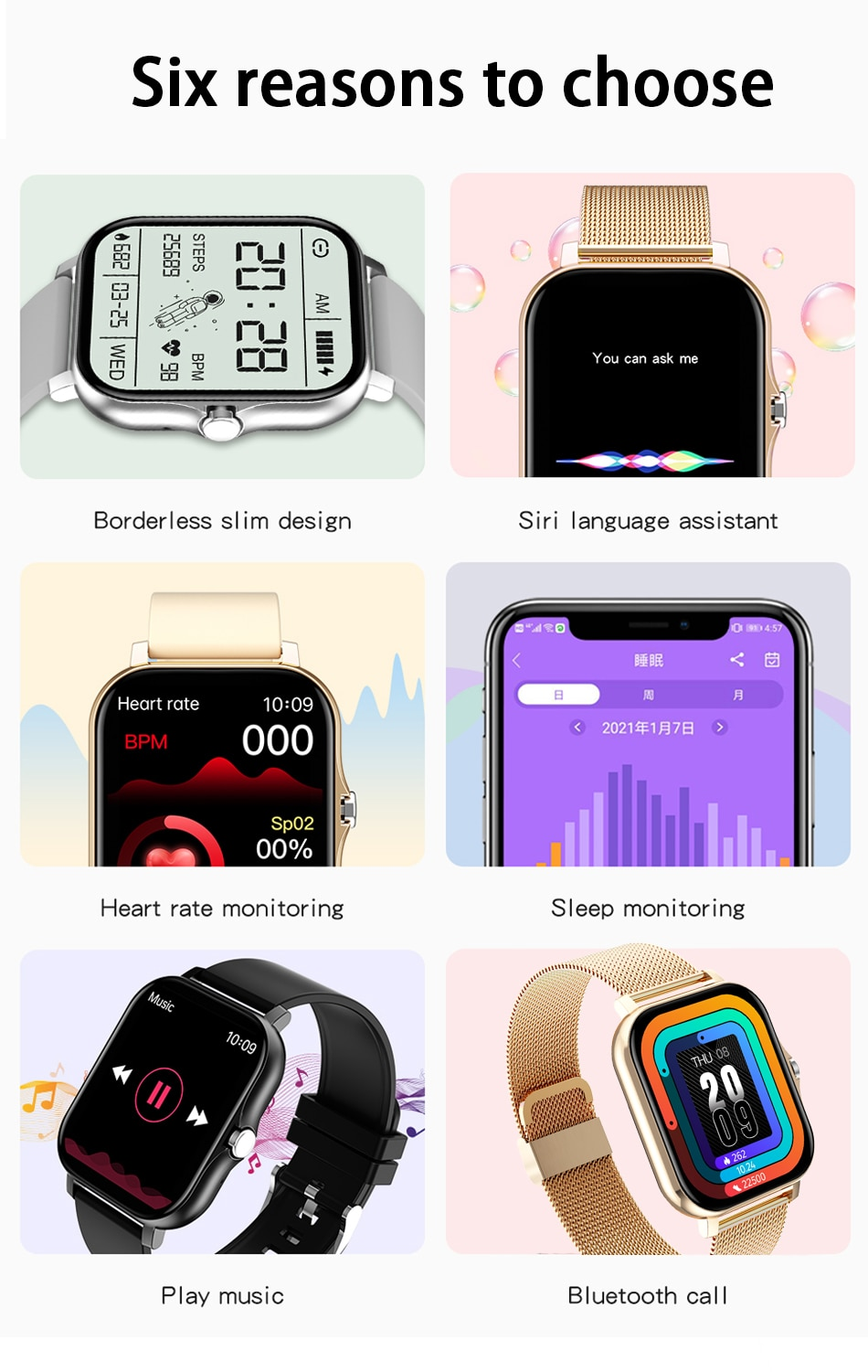 Ha17f4586a0e74b05814b1432b6aa183bd - LIGE 2021 New Women Smart Watch 1.69 Color Screen Full Touch Fitness Tracker Bluetooth Call Smart Clock Ladies Smartwatch Men