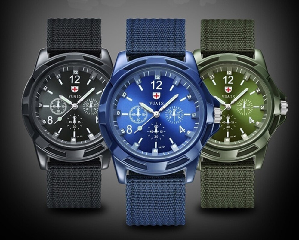 Ha4e4f7efc01a44feb86126c3b4914fedy - Men Army Watch Nylon Military Male Quartz Watches Fabric Canvas Strap Casual Cool Men's Sport Round Dial Relogios Wristwatch