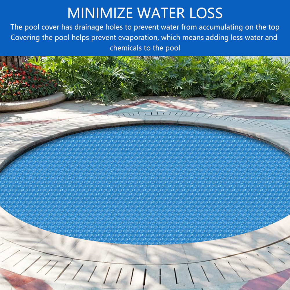 Ha515d211d94c49aa9664a9aa12966fd7x - Swimming Pool Solar Heat Shield Dustproof Cover Round Pool Protector Cover Frame Pool Mat Cover Pool Film Accessories