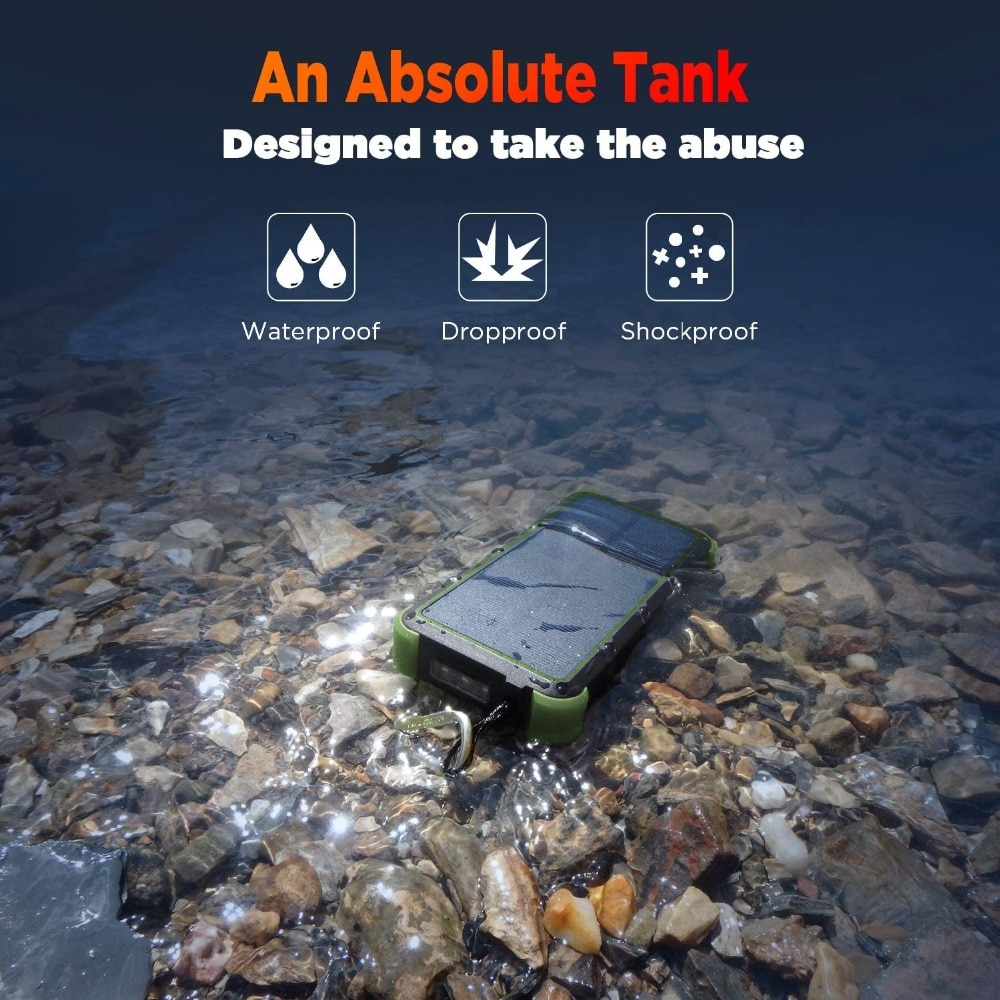 Ha6986a73501d49b596ad534223da6c1dr - Outxe Outdoor 25000mAh Powerbank Rugged Solar Power Bank Wireless IP67 Waterproof Quick Charge Poverbank Battery with Flashlight