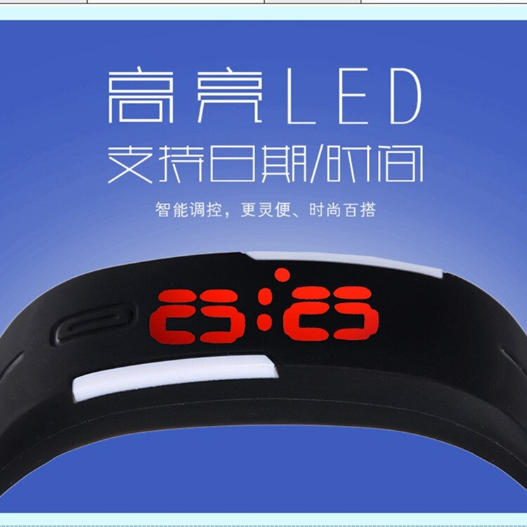 Ha8f02b86e5b747b1a17c0f0b9fc01baag - Korean Lovers Men Women Watches LED Digital Watch Electronic Wristwatches Creative Calendar Colorful Rubber Smart Montre Femme