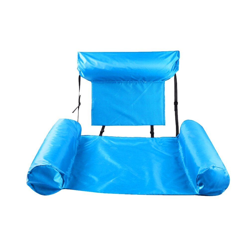 Haa90918d04ed4700b9f5954c0be1cd503 - PVC Summer Inflatable Foldable Floating Row Swimming Pool Water Hammock Air Mattresses Bed Beach Water Sports Lounger Chair