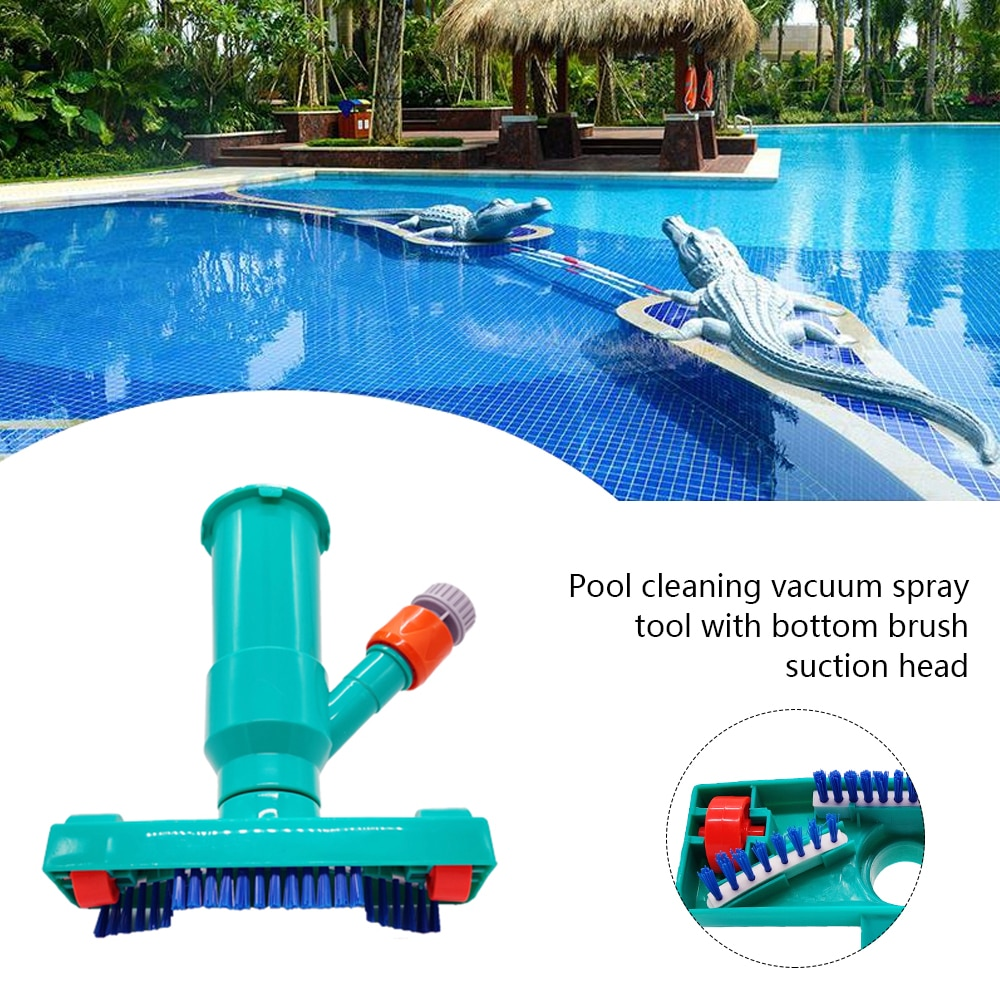 Habe26746b6fd48ba93f5b4593ed47b21D - Hot ! Mini Jet Swimming Pool Vacuum Cleaner Tools set Objects Suction Fountain Pond Head Vacuum Brush Cleaner Cleaning Tools