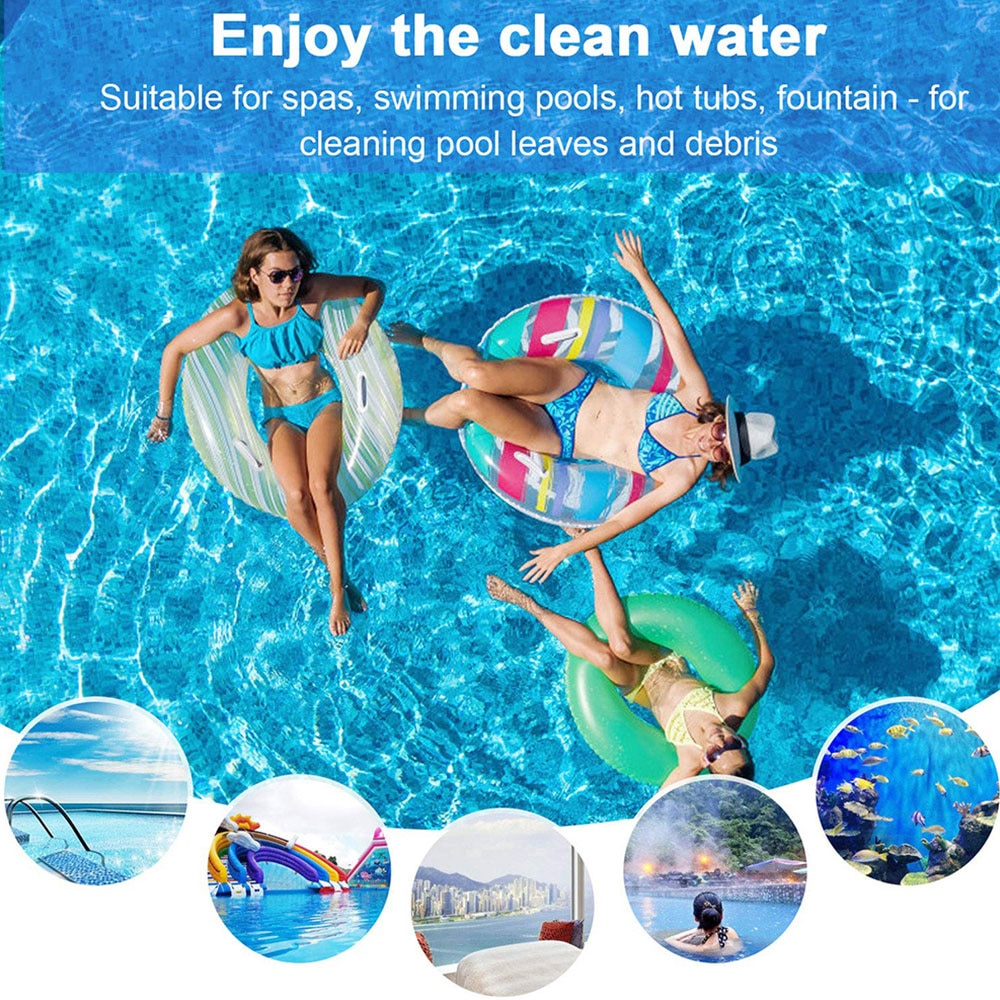 Hb7111c4f8acd480cb98c53bd7d5ac639K - Swimming Pool Vacuum Cleaner Cleaning Tool Kit Suction Spary Jet Cleaner Head with Net for Swimming Pool Spa Pond Fountain