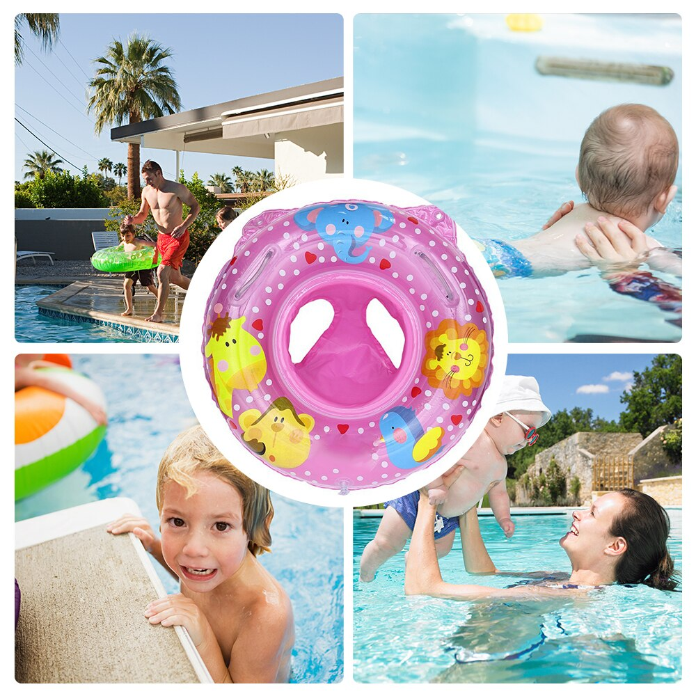 Hb8380e20e443416e8fa8bda3b2102687z - Lnflatable Child Seat Swimming Ring Dual-Handle Safety Baby Seat Floating Water Toy Children Swimming Accessories