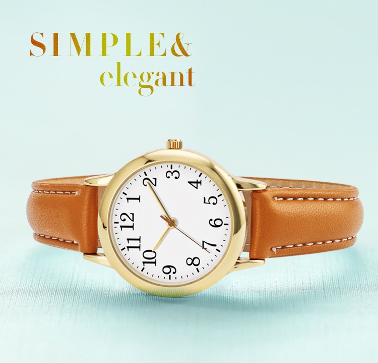Hbb9f972148014bf18fde6f528a9c3375B - Japanese Movement Women Quartz Watch Easy to Read Arabic Numerals Simple Dial PU Leather Strap Lady Candy Color