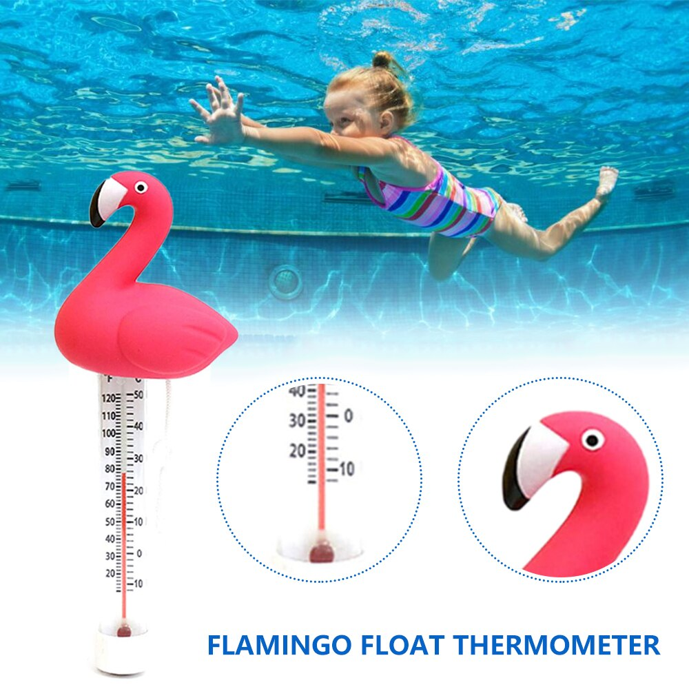 Hbdbce4311a0e4e4b8082cddf8c1f737bE - Swimming Pool Floating Water Thermometer Gauge Cartoon Flamingo Shape Thermometers With String For Swimming Pools Spas Hot Tubs