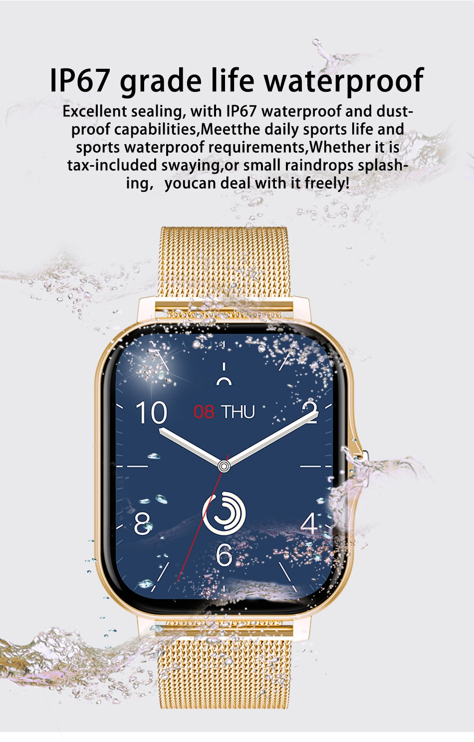 Hbfb827132f444d9bb57e1e70afb52ad3q - LIGE 2021 New Women Smart Watch 1.69 Color Screen Full Touch Fitness Tracker Bluetooth Call Smart Clock Ladies Smartwatch Men