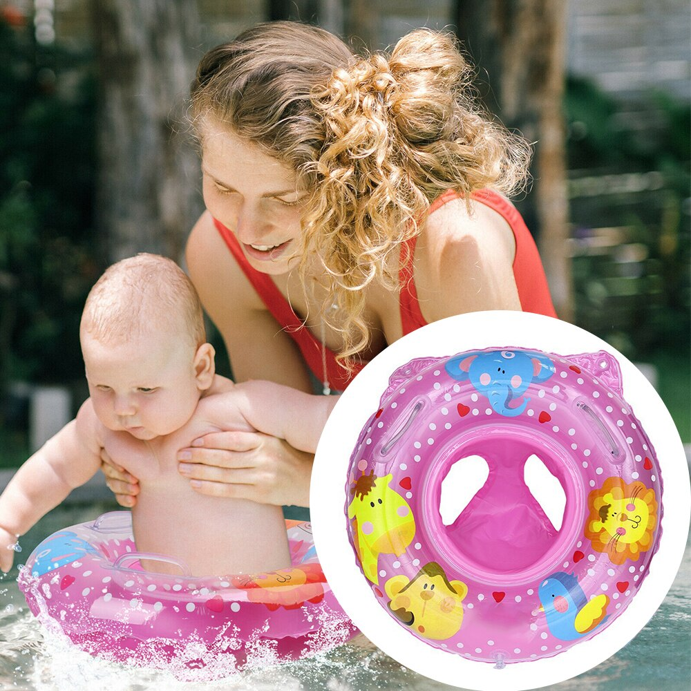 Hbfd8d02be9344572be65b62e0dcebd27x - Lnflatable Child Seat Swimming Ring Dual-Handle Safety Baby Seat Floating Water Toy Children Swimming Accessories