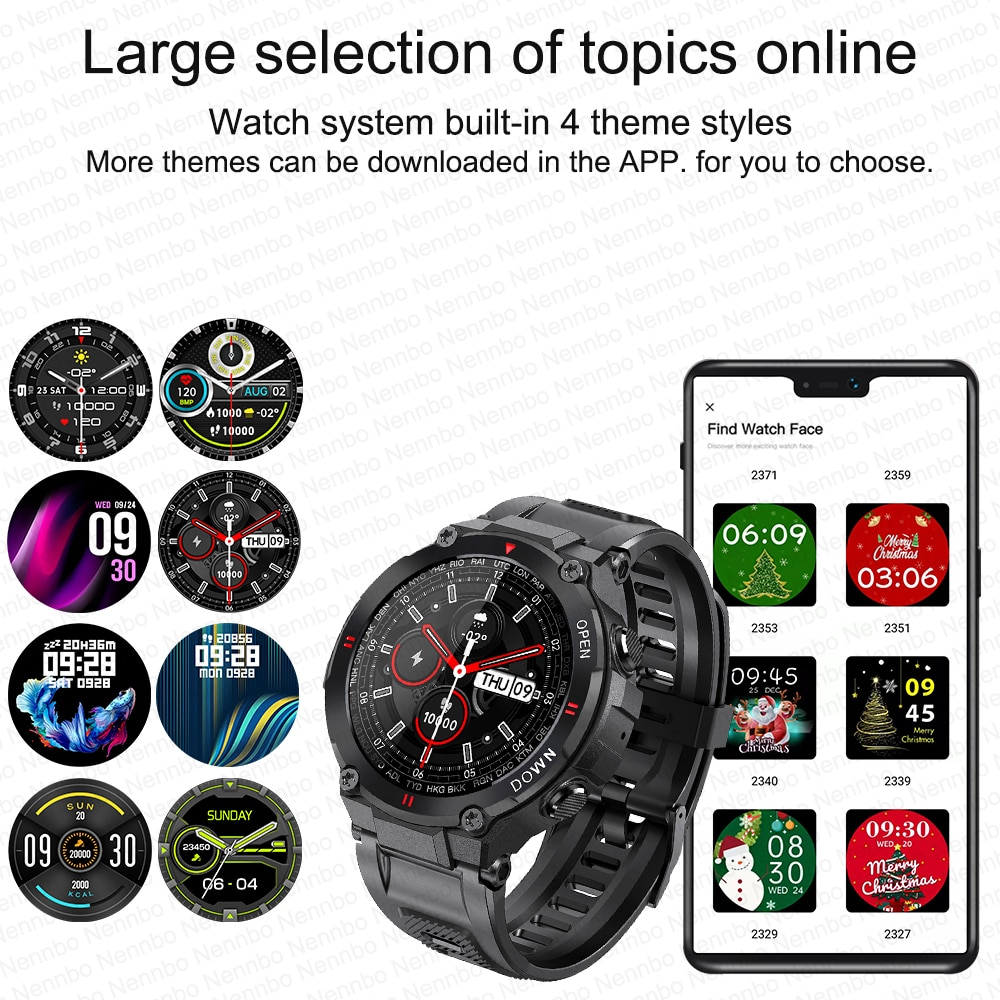 Hc032539d2a7f4529b8f41a89662f95c3E - 2021 New Smart Watch Men Sport Fitness Bluetooth Call Multifunction Music Control Alarm Clock Reminder Smartwatch For Phone