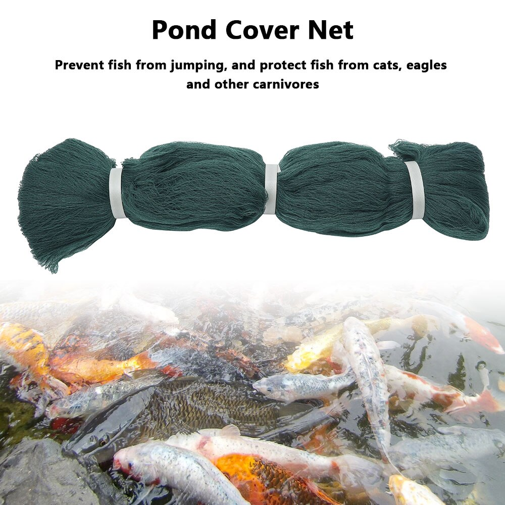 Hc1aa295dcaaa4bccb8d2465f49de5704F - 1pc Pond Cover Net with Pegs Anti Bird Catcher Netting Net Anti Leaves Cleaning Tools for Landscape Swimming Pool Protective Net