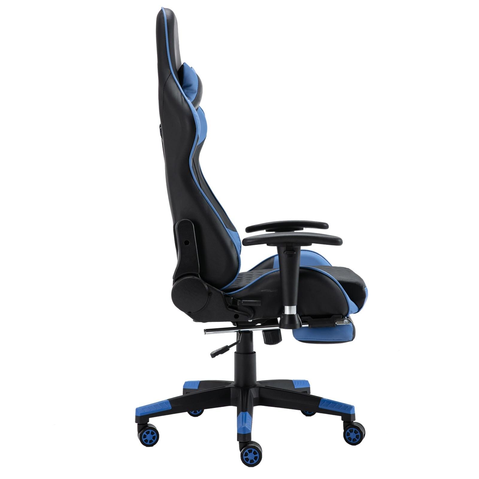 Hc69cdeea31cf4748a463d9c03791c4f8g - Gaming Chair Computer Armchair Adjustable Armrest And Footrest PVC Household Office Chair Ergonomic Computer Gamer Chair