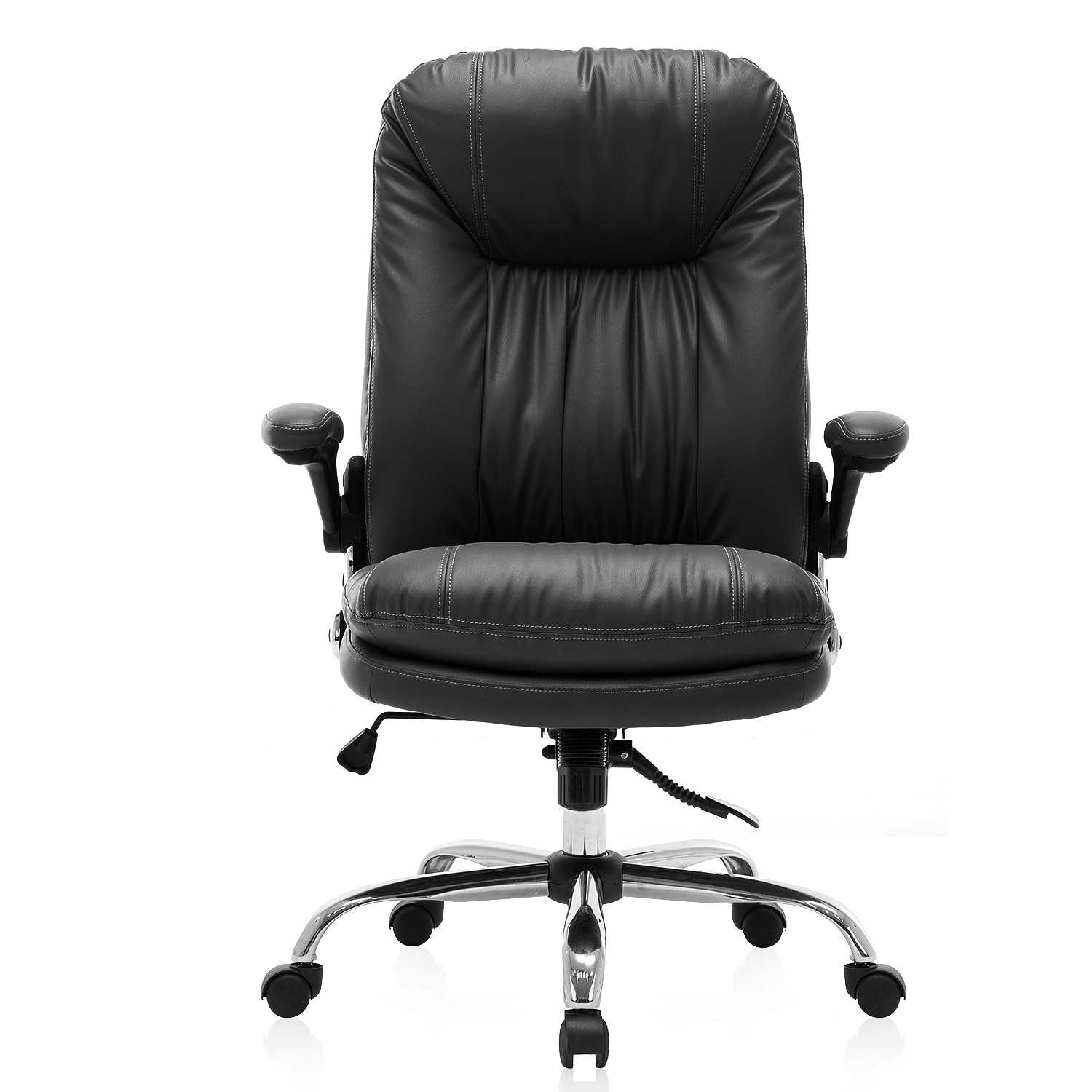 Hc6e5599c6bff4e0080bf61f3ab20a2add - Yamasoro Ergonomic Office chair Faux PU Leather Chair Executive Computer Desk Chairs Managerial Executive Chairs
