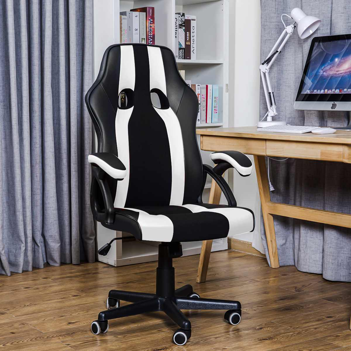 Hca236819150d4b69b86ccb5d70d66124p - Gaming Office Chairs Executive Computer Chair Desk Chair Comfortable Seating Adjustable Swivel Racing Armchair Office Furniture