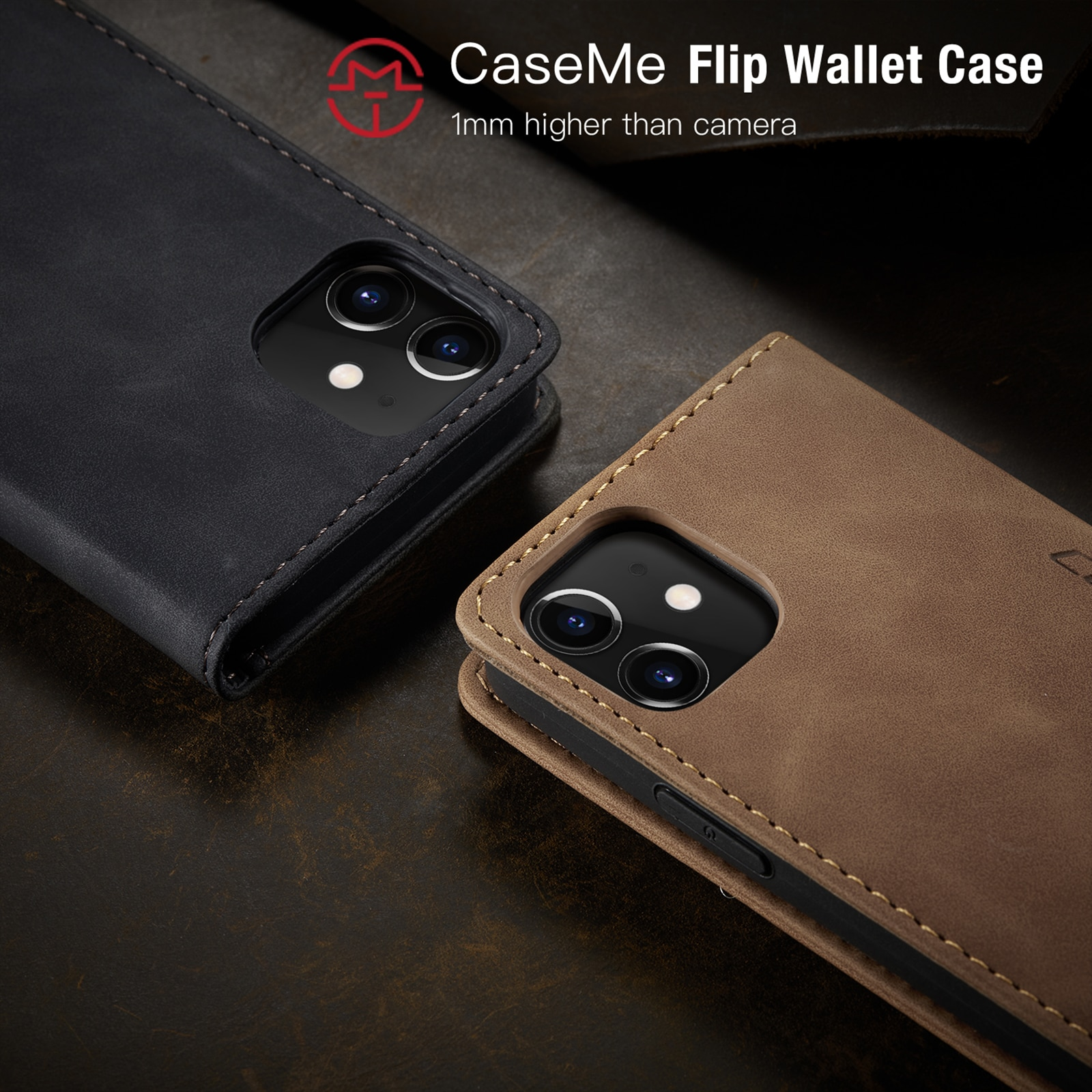 Hcb0ee641ed134b35a1fbf423fe9f8d6ag - Magnetic Leather Flip Case For iPhone 12 / Pro / Pro Max PU Leather Fitted Bumper Soft Retro Flip Case Book Wallet Cover
