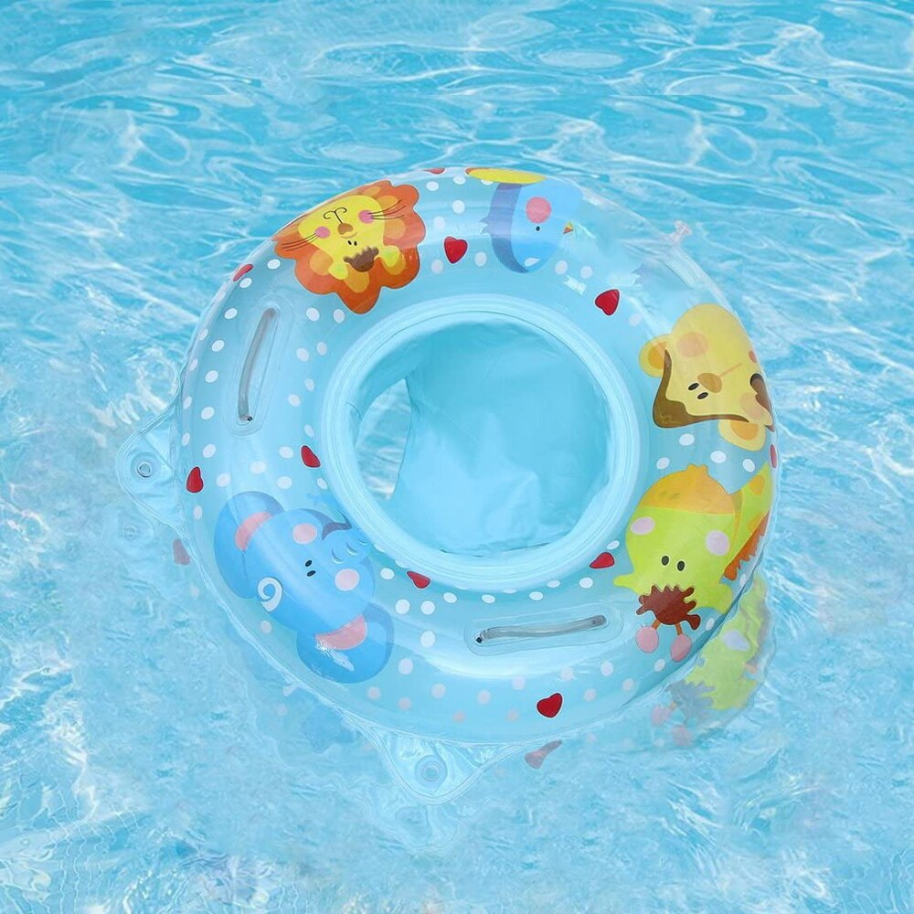 Hcbb180f10f1c4bd49320bd8c03ae38fdf - Lnflatable Child Seat Swimming Ring Dual-Handle Safety Baby Seat Floating Water Toy Children Swimming Accessories