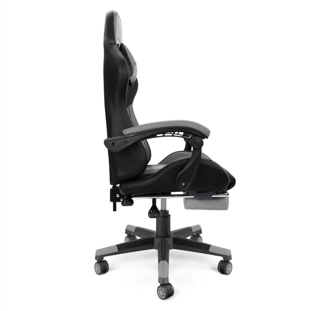 Hcde280af5dc942cfa3e6d987f6de1569Y - Furgle PC Gaming Chair Ergonomic Office Chair Desk Chair with Lumbar Support Flip Up Arms Headrest High Back Computer Chair