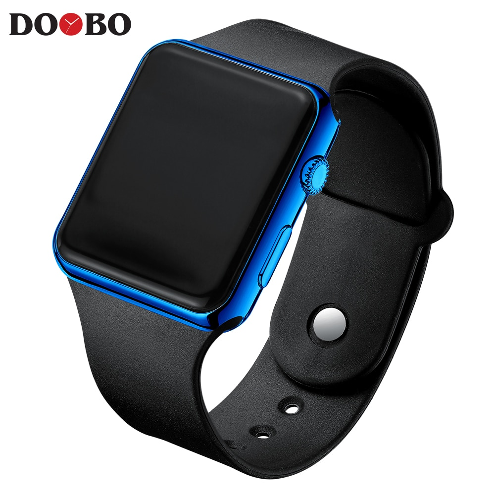 Hcfc2f71cece94df8b679a356a1dd7a07v - Fashion Men Watch Women Casual Sports Bracelet Watches White LED Electronic Digital Candy Color Silicone Wrist Watch Children