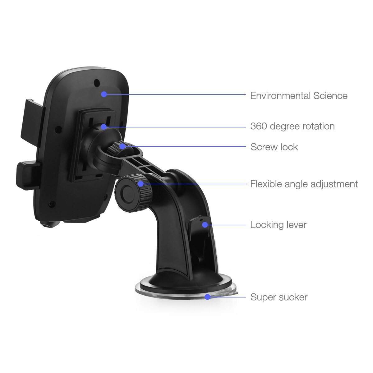 Hcffb12ab570a462dbdcfd443c0f64441h - 360 Degree Rotatable Car Phone Holder For 2.4 to 3.4inch Phone Mount Stand in Car Bracket For Poco x3 pro iPhone Xiaomi Samsung