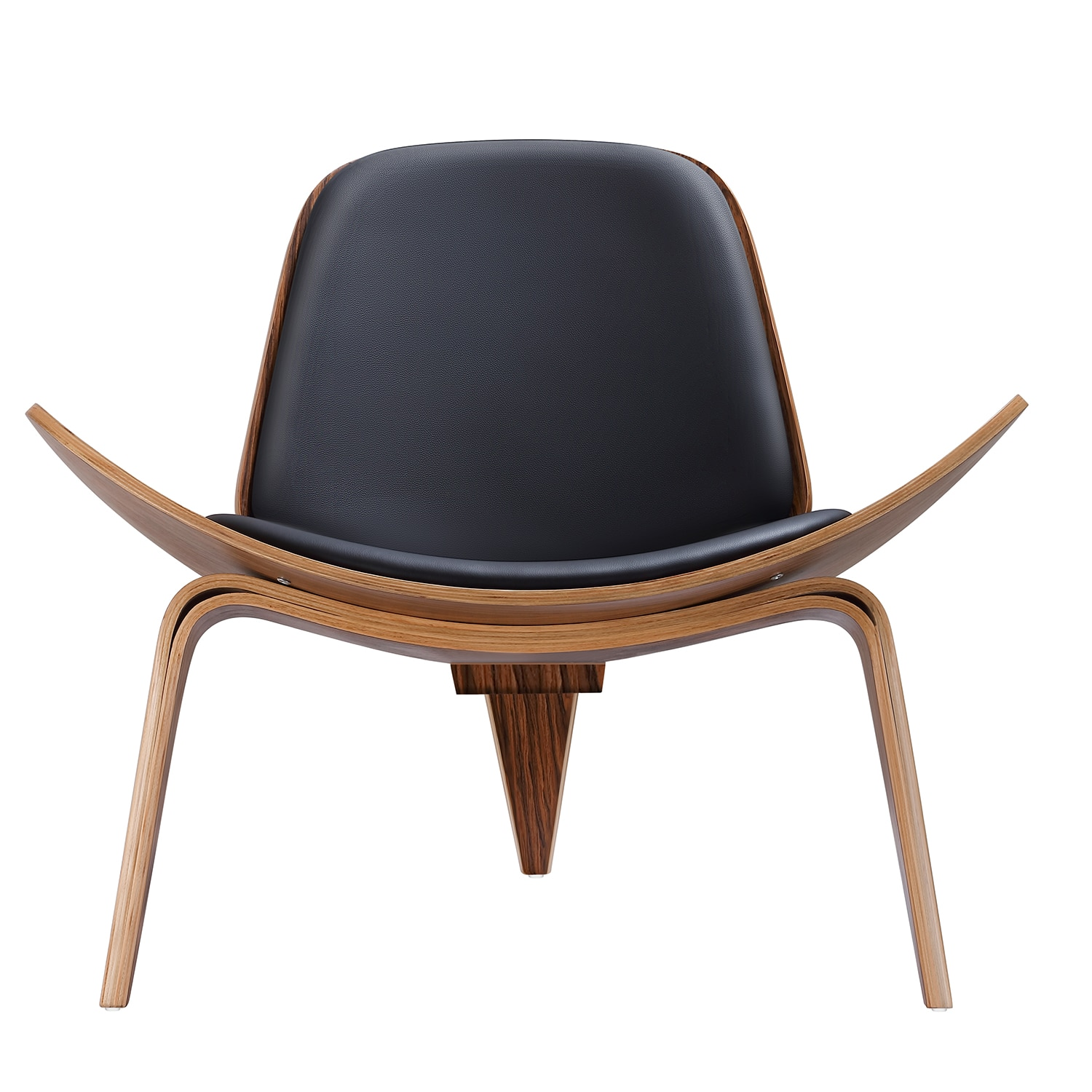Hd08bca8c6c204de4bc5e4d73946b3e41s - Design Furniture Bentwood Chair Hands Wegner Replica Lounge Chair with PU Leather Seat Comfort Cushion Coffee Chair Office Chair