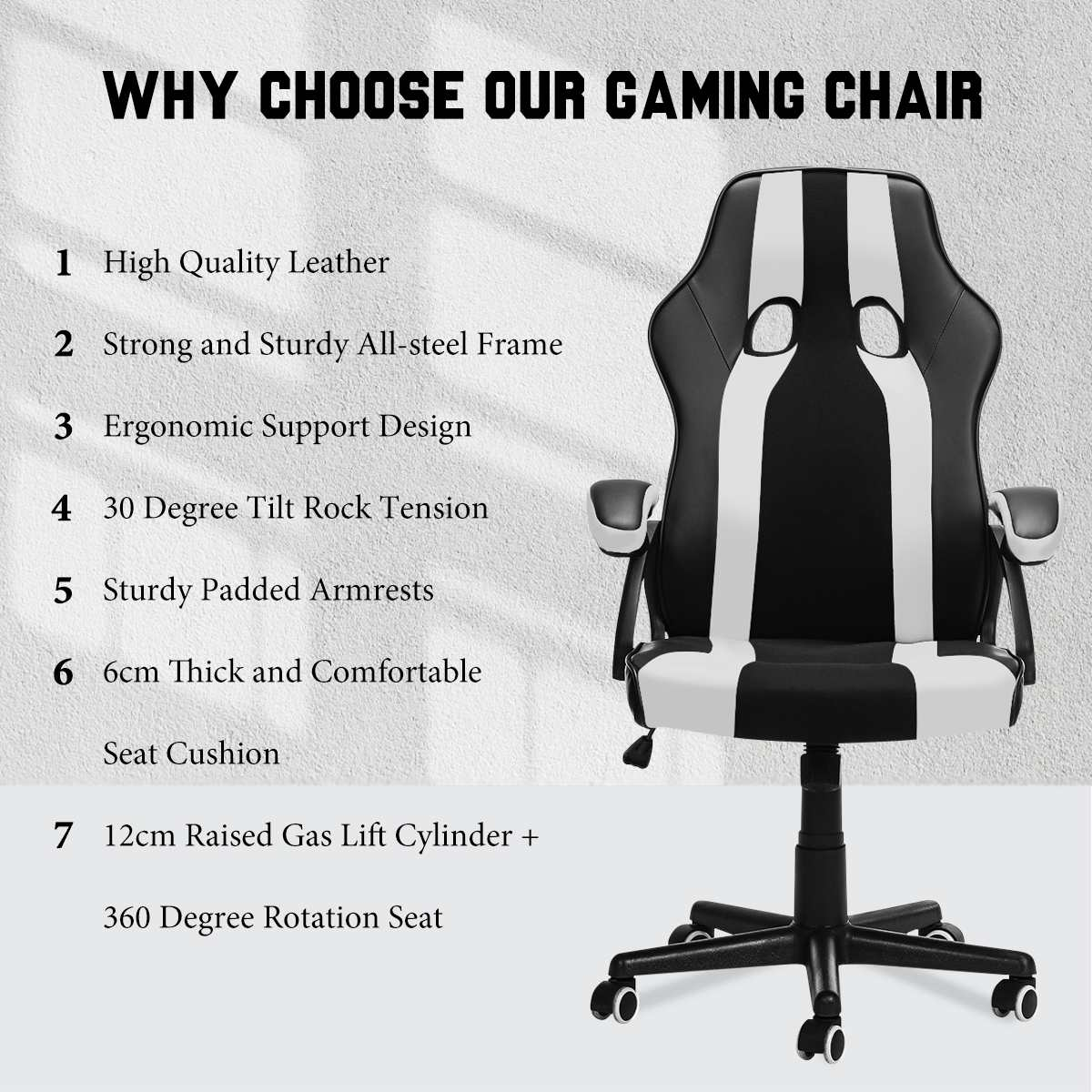 Hd7f739d84e5e4d45991b48956d9b3d21f - Gaming Office Chairs Executive Computer Chair Desk Chair Comfortable Seating Adjustable Swivel Racing Armchair Office Furniture