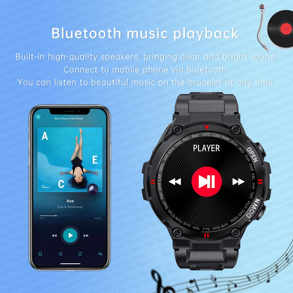 Hd8d2576280f64c1eb2184b91548a1d33Z - 2021 New Smart Watch Men Sport Fitness Bluetooth Call Multifunction Music Control Alarm Clock Reminder Smartwatch For Phone