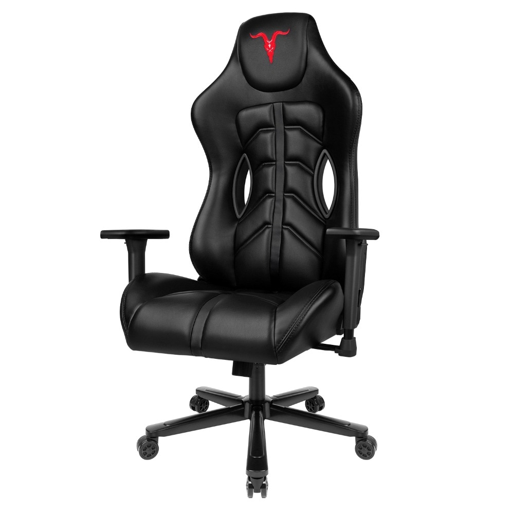 Hda2ec9ea169f43399cfe5c924b9e1d06R - Furgle ACE Series Office Chair 4D Armrest Gaming Chair Larger Seat Wider Back Side Computer Chair Swivel Leather Armchair Home