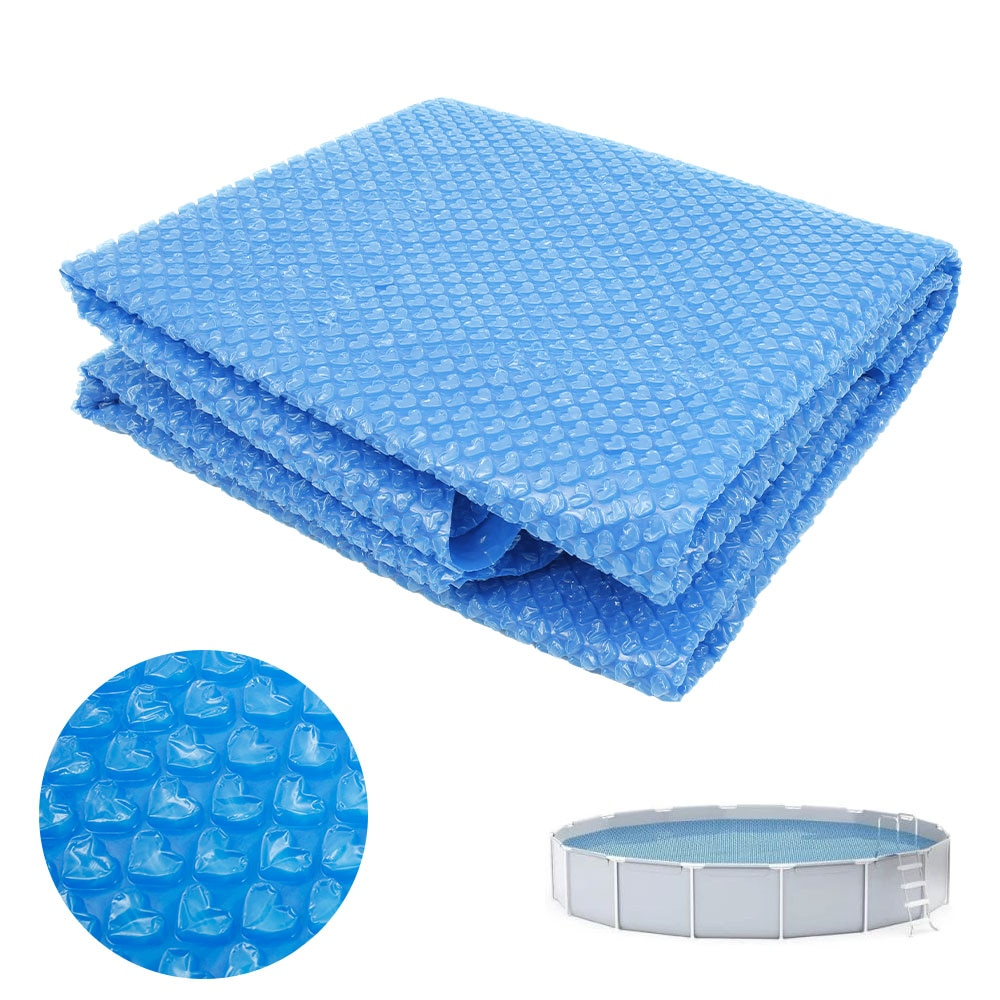Hdc12f7b7f59b4eb7b888f641f3a5c270f - Swimming Pool Solar Heat Shield Dustproof Cover Round Pool Protector Cover Frame Pool Mat Cover Pool Film Accessories